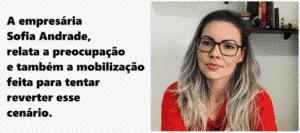 Empresaria Sofia Andrade